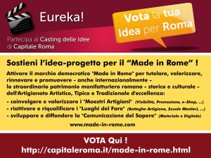 Vota il Made in Rome