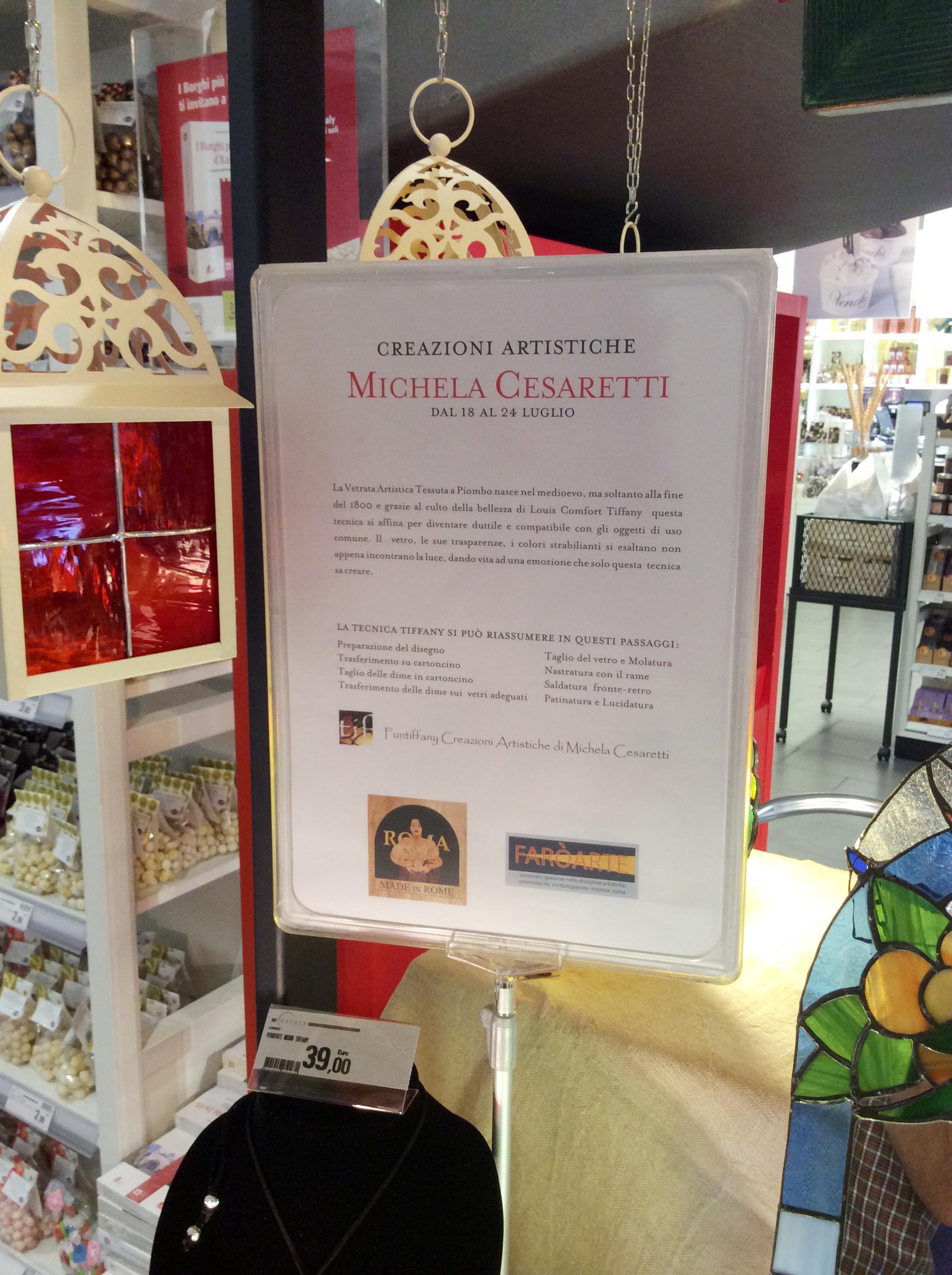 Michela Cesaretti ad Eataly