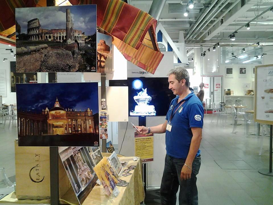 Carlos Caballeo Farfan ad Eataly Roma