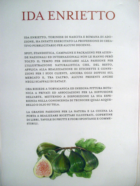 Ida Enrietto ad Eataly Roma
